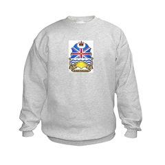 B.C. Shield Kids Sweatshirt