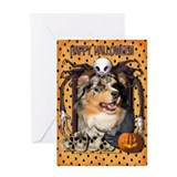 Halloween Nightmare - Aussie Greeting Card