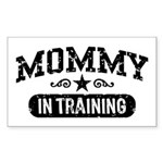 Mommy in Training Sticker (Rectangle)