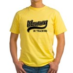 Mommy in Training Yellow T-Shirt