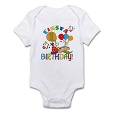 Fiesta 1st Birthday Infant Bodysuit