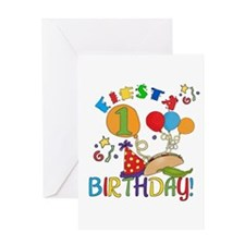 Fiesta 1st Birthday Greeting Card