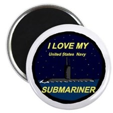 I love My Submariner Round Magnet
