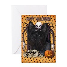 Halloween Nightmare - Cairn Greeting Card