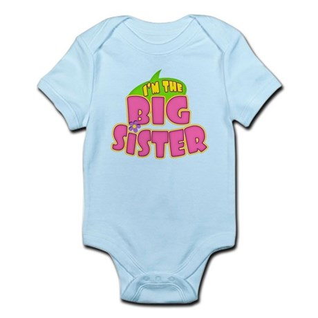 Pink Big Sister Infant Bodysuit