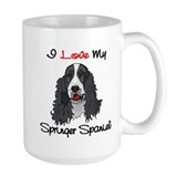 I Love My Springer Spaniel Coffee Mug