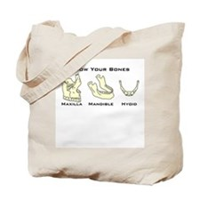 Know Your Bones Tote Bag