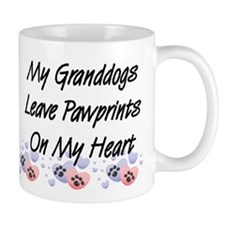 Granddogs Pawprints Coffee Mug
