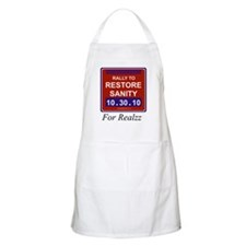 Rally to restore sanity Apron