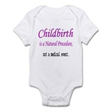 Childbirth is a Natural Proce Infant Creeper