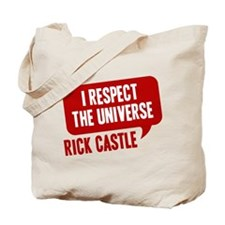 astle I Respect The Universe Tote Bag