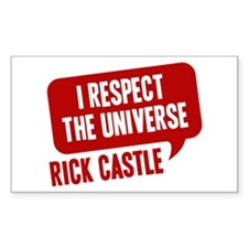 astle I Respect The Universe Sticker (Rectangle)