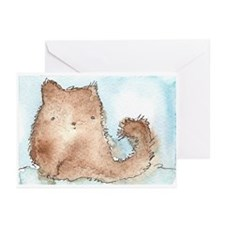Fluffy Kitty Greeting Cards (Pk of 10)