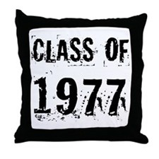 Class of 1977 Throw Pillow
