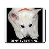 Deny Everything Mousepad