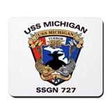 USS Michigan SSGN 727 Mousepad