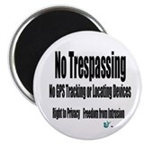 "No Trespassing 2.25"" Magnet (10 pack)"