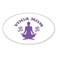 Yoga Mom Decal