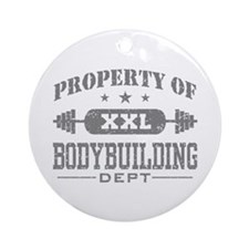 Bodybuilding Ornament (Round)