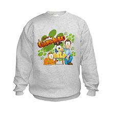 El Show de Garfield Logo Sweatshirt