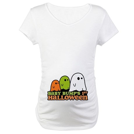 Baby Bump's 1st Halloween Maternity T-Shirt