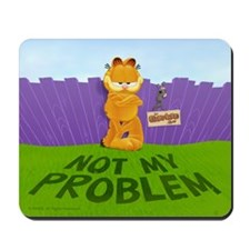 "Garfield ""Not My Problem"" Mousepad"