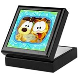 Garfield Goofy Faces Keepsake Box
