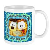 Garfield Goofy Faces Tasse