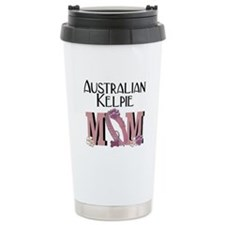 Australian Kelpie MOM Ceramic Travel Mug
