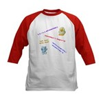 Spelling Rules Kids Baseball Jersey