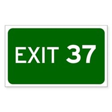EXIT 37 Decal