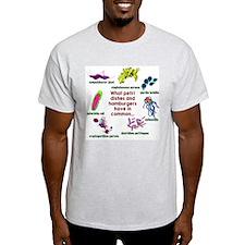 Petri Dish Ash Grey T-Shirt