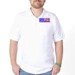 Infidel American Patriotic Golf Shirt