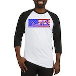 Infidel American Patriotic Baseball Jersey