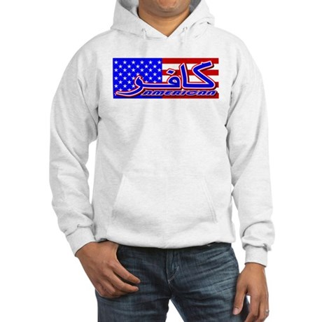 Infidel American Patriotic Hooded Sweatshirt