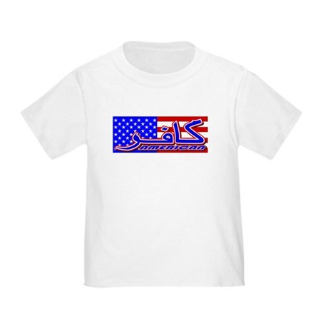 Infidel American Patriotic Toddler T-Shirt