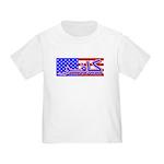 Infidel American Patriotic Toddler T-Shirt