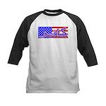 Infidel American Patriotic Kids Baseball Jersey