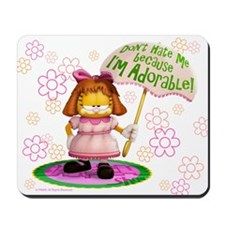 "Garfield ""I'm Adorable"" Mousepad"