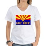 Got Docs? Women's V-Neck T-Shirt