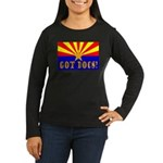 Got Docs? Women's Long Sleeve Dark T-Shirt