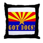 Got Docs? Throw Pillow