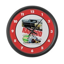 RamRod - 68 Charger Large Wall Clock