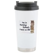 Nursing School Ceramic Travel Mug