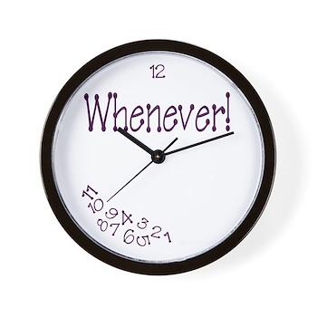 Fibromyalgia Time Wall Clock