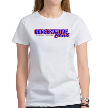Conservative Chick Women's T-Shirt