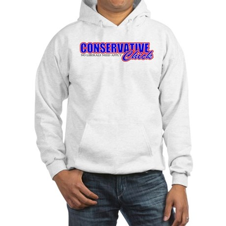 Conservative Chick Hooded Sweatshirt