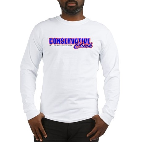 Conservative Chick Long Sleeve T-Shirt