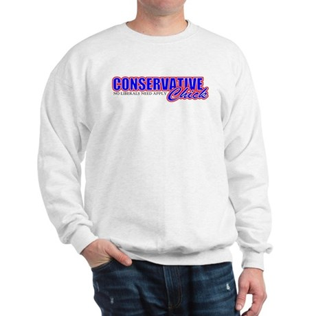 Conservative Chick Sweatshirt