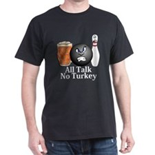 All Talk No Turkey Logo 10 T-Shirt Design Fro